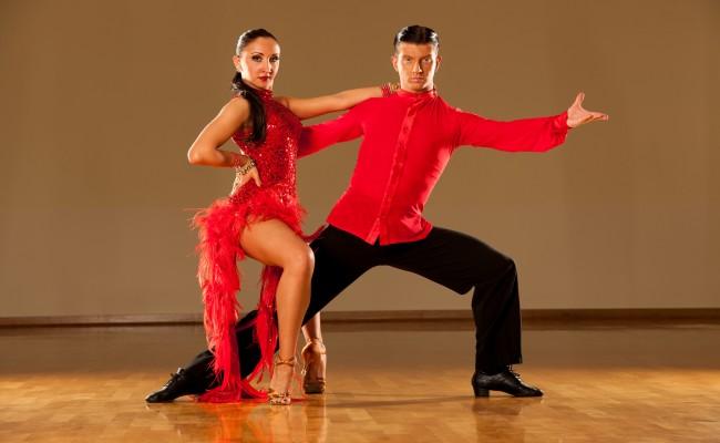 market latin dancer art
