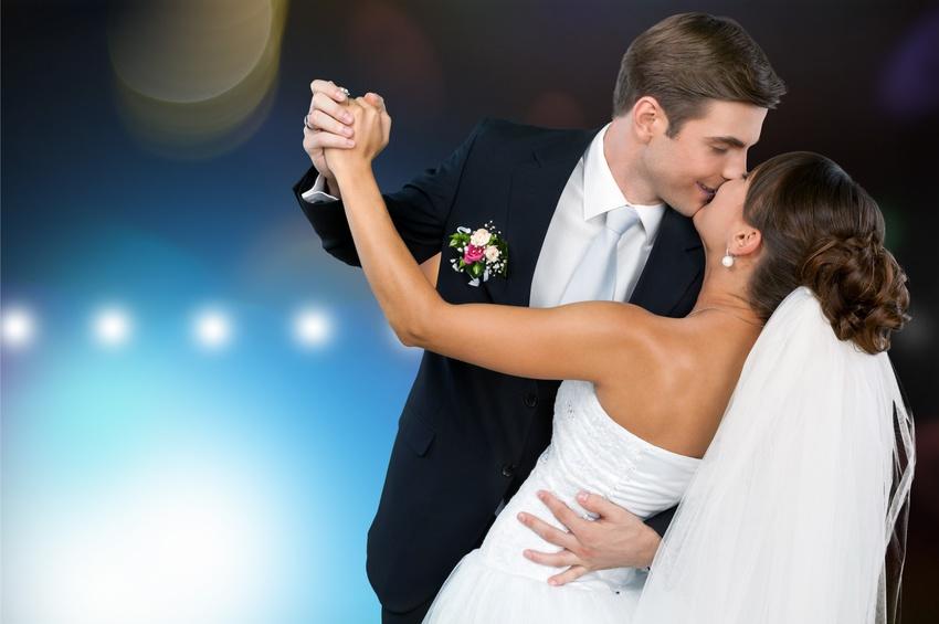 Dancing for wedding
