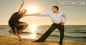 couple at sunset beach dance videos