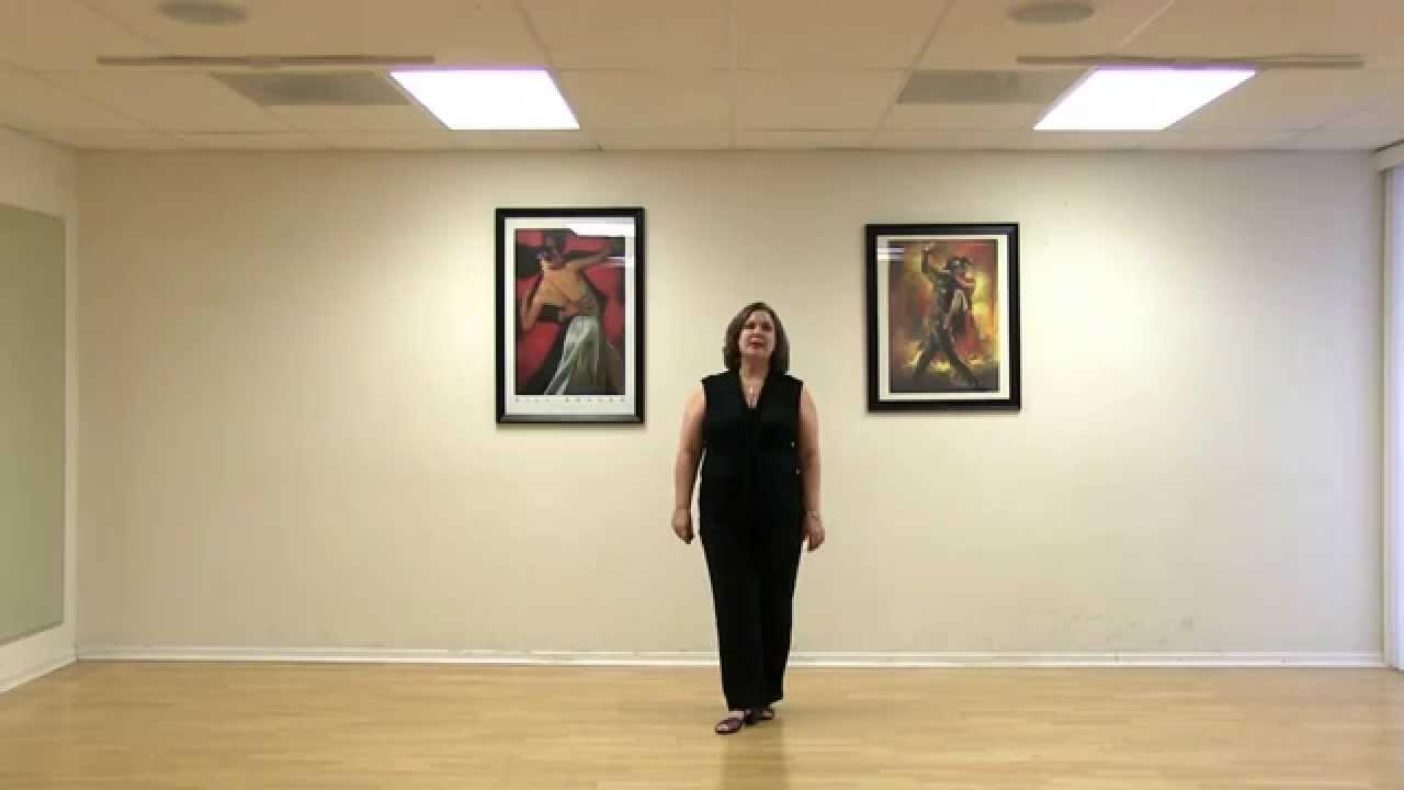 how to dance foxtrot basic step