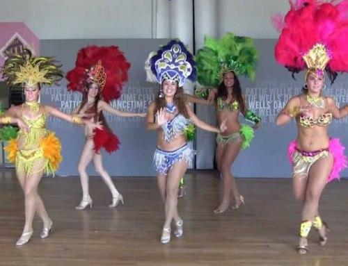 Brazilian Samba Dancing Performance