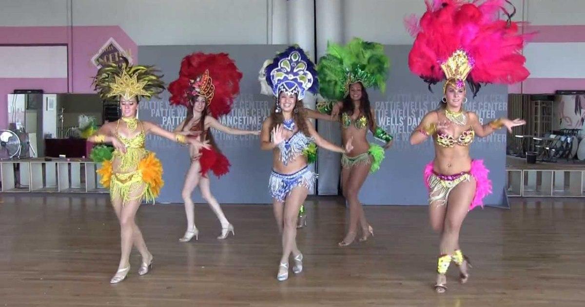 Brazilian Samba Dance Performance Team