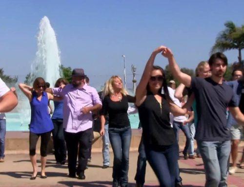 International Flashmob West Coast Swing – San Diego #1 – 2016