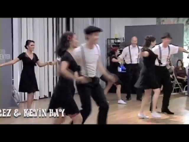 Lindy Hop Swing Dance Team Performance