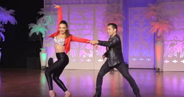 Hustle dance Raul & Yesenia IHSC 2016