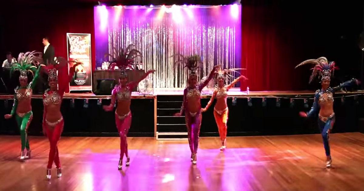 Latin dance videos - Brazilian samba team