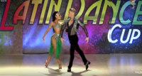 salsa dancers Carine & Rafael