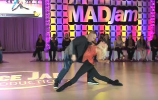 West Coast swing jack and jills competitors