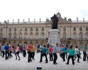 International Flashmob West Coast Swing in Nancy, France