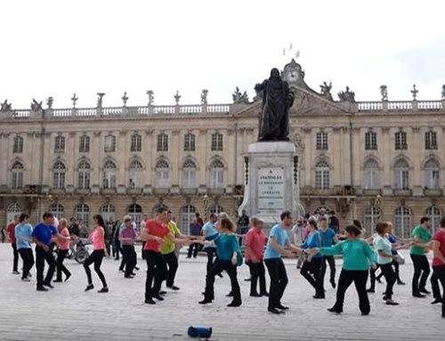 International Flashmob West Coast Swing