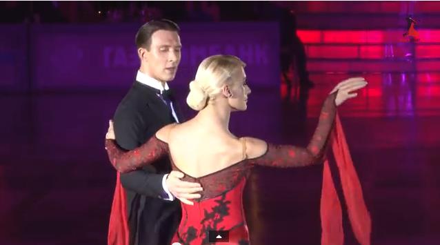 Ballroom dancers arunas bizokas & Katusha demidova