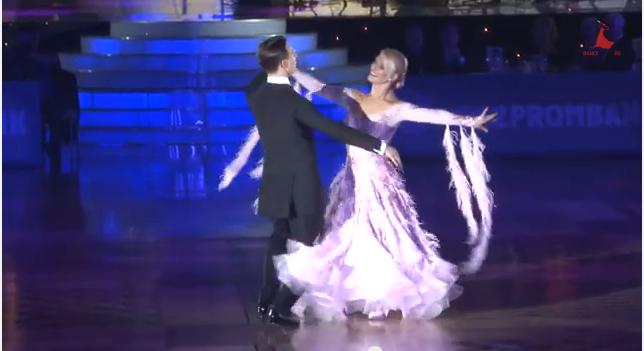 International ballroom english waltz