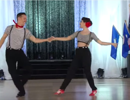 Benji Schwimmer & Nicole Clonch at US Open Swing Dance Championships 2015