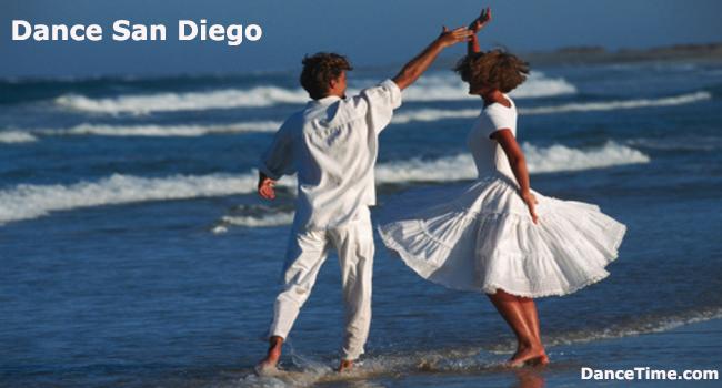Dance San Diego on the beach