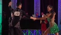 East Coast Swing dance couple