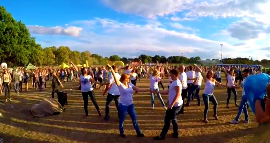 International Flashmob West Coast Swing 2015, Wroclaw, Poland