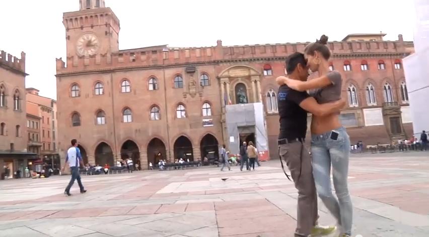 Puma & Yilian Kizomba in Bologna, Italy to Pump It Up