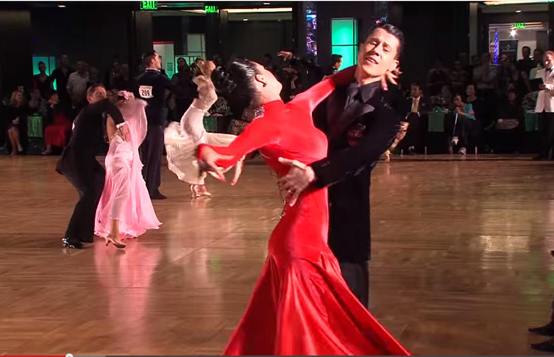 U.S. Professional Ballroom Smooth champions Peter & Alexandra Perzhu