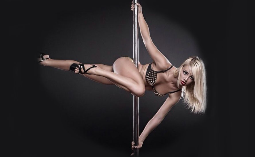 Pole dance fitness Anastasia Sokolova