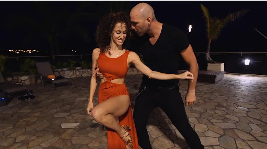 Zouk dancing