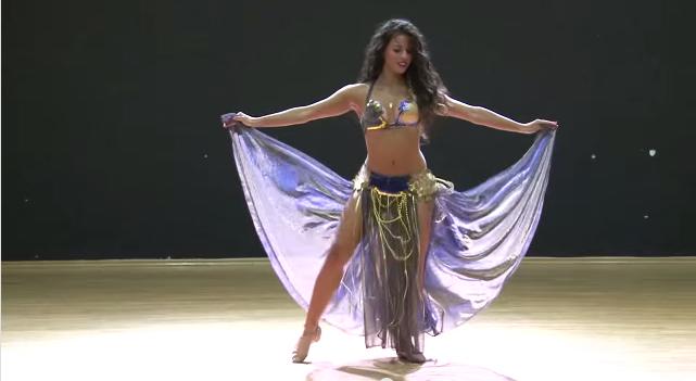 zumba flamenco salsa solo belly dance performance