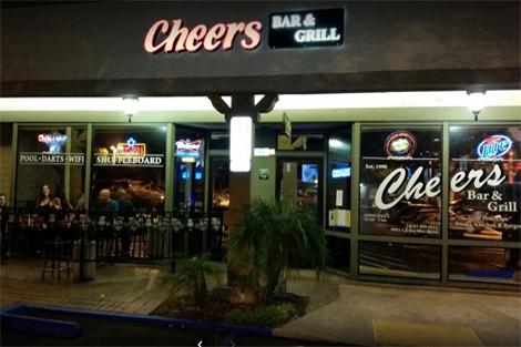 west coast swing san diego community dance location: Cheers Bar & Grill