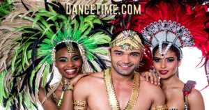 Samba dance trio