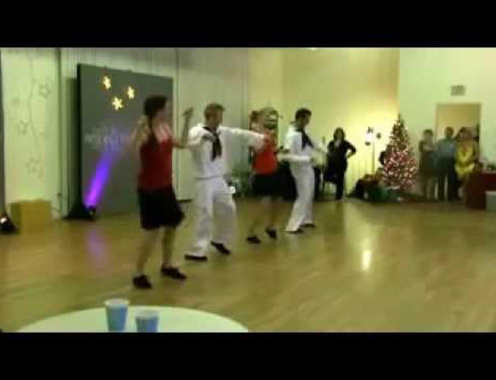 Shim Sham and California Classic Lindy Hop performance