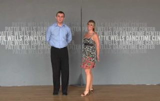 Country Western two step prepping tip by Brandon & Stephanie