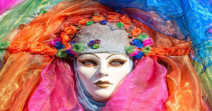 Carnivale & Mardi Gras masks