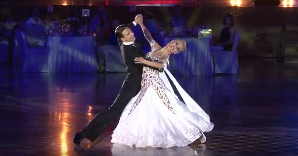 Arunas & Katusha ballroom dancing