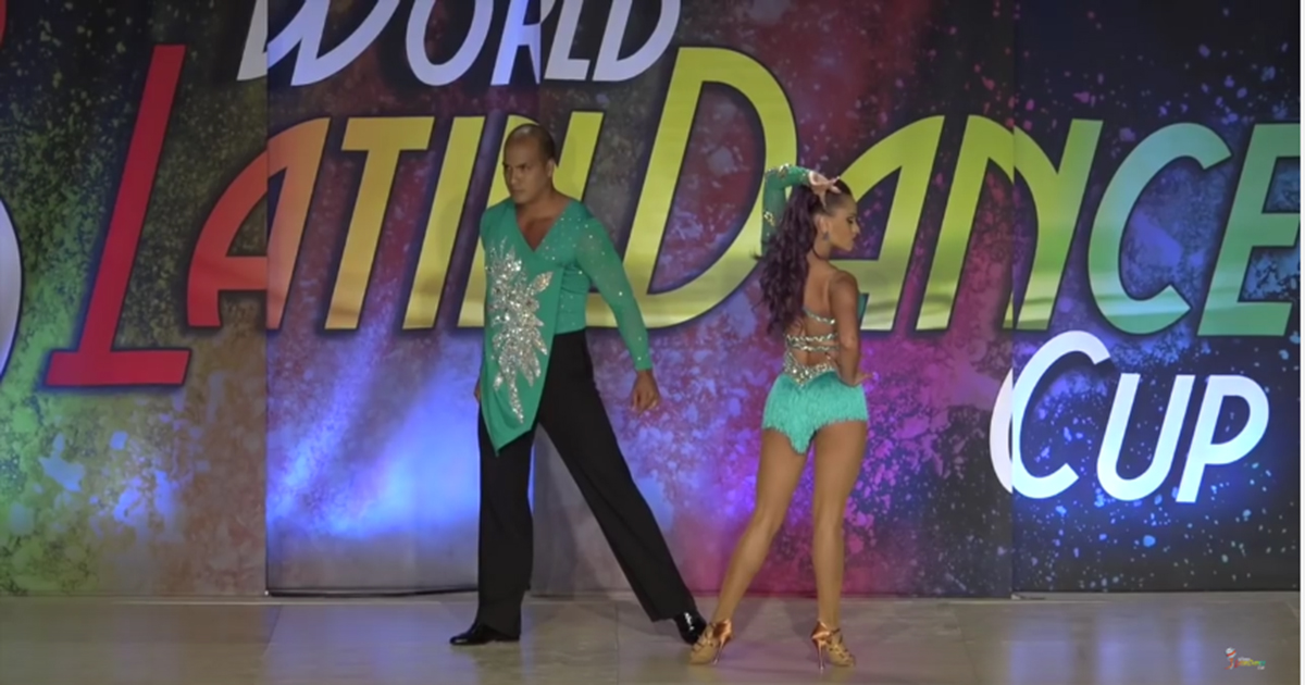 world latin dance cup couple