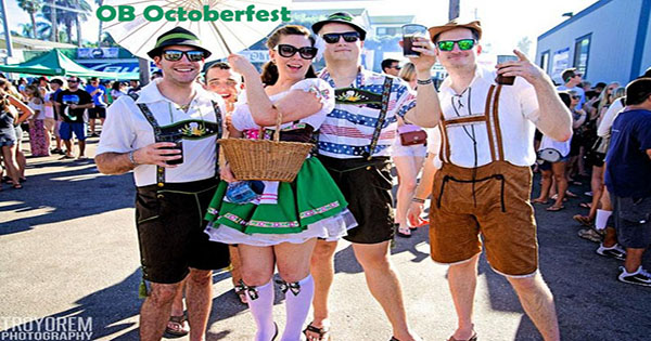 Oktoberfest San Diego in OB