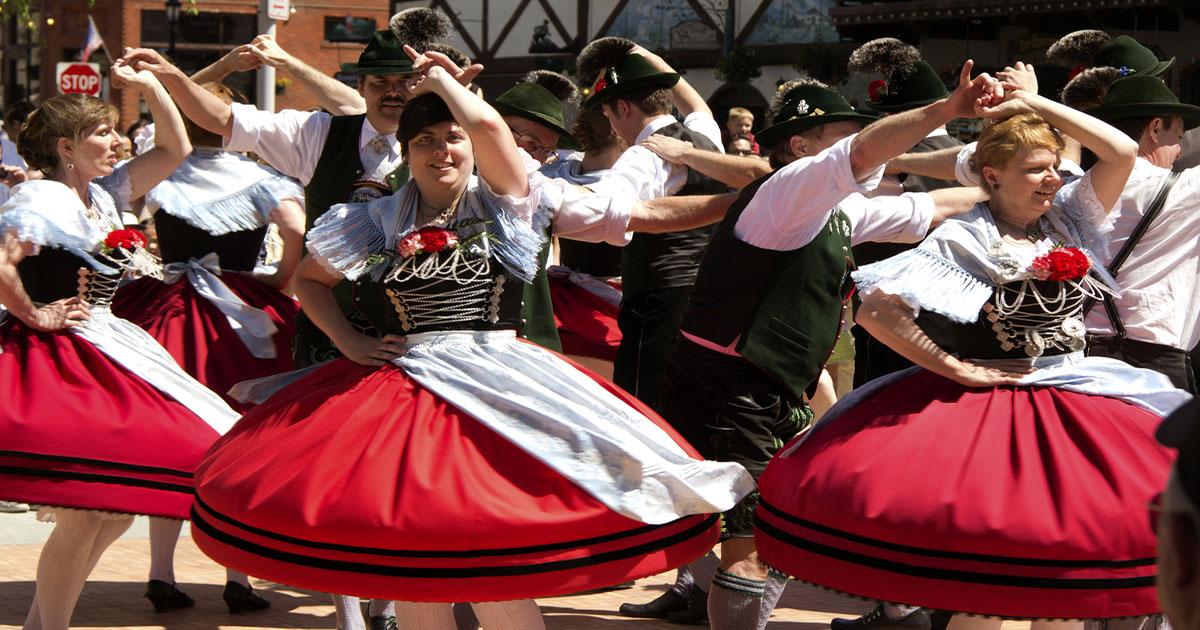 Oktoberfest Polka Dancing