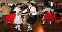 Oktoberfest San Diego dancing