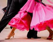 How to waltz dance couple