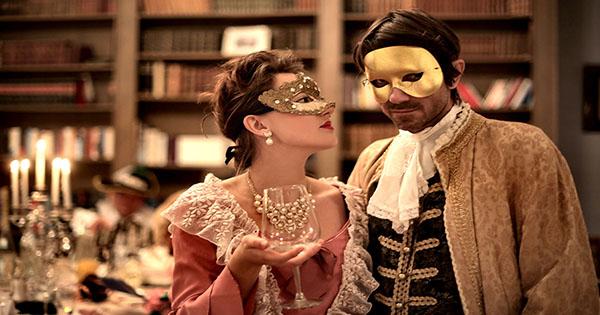 Halloween Dance Couple