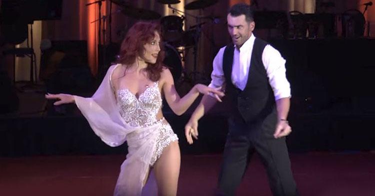 Dance video clips of American rhythm ballroom dancing